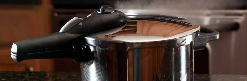 pressure cooker compared to a steamer