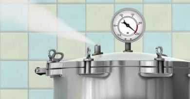 how hot does a pressure cooker get