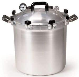 All American 10.5 Quart Metal to Metal Pressure Cooker