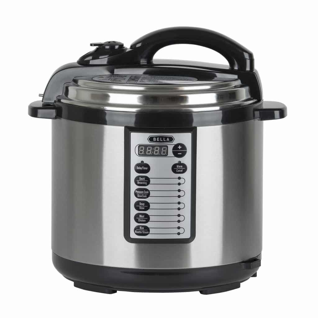 Bella 8 quart pressure cooker