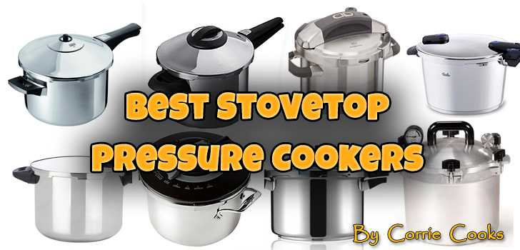 Stainless Steel Pressure Cooker 4-Quart Stovetop Cookers Steamer Pot Kitchen