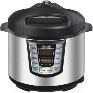 Aicok Electric Multi-Fucntional Pressure Cooker