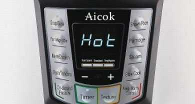 Aicok Electric Pressure Cooker Review