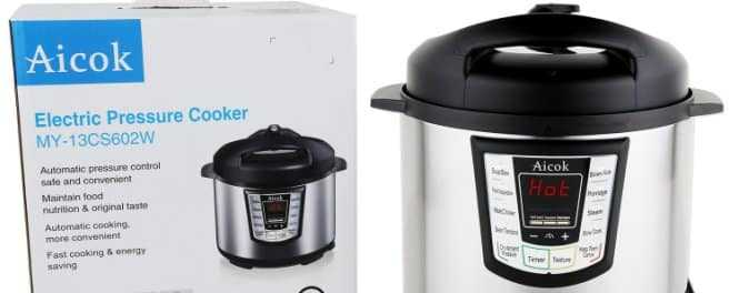Aicok vs Fagor Electric Pressure Cookers