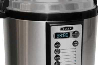 Bella Electric Pressure Cooker VS Cuisinart CPC-600