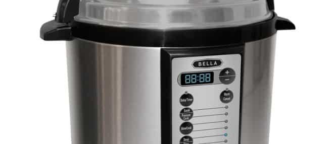 Bella Electric Pressure Cooker VS Cuisinart CPC-600