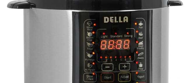 Della Electric Pressure Cooker Review