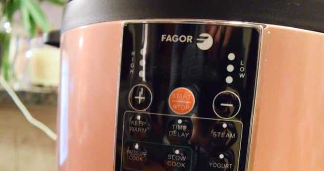 Fagor LUX Electric Pressure Cooker Review