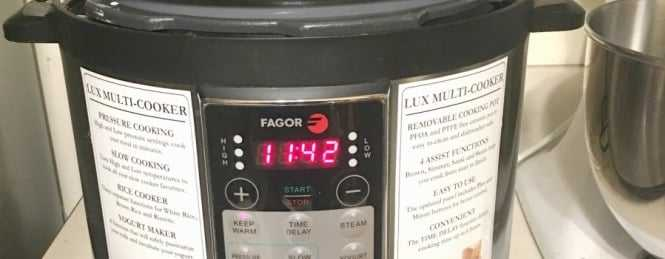 Fagor Lux vs Instant Pot IP-LUX
