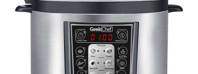 GeekChef Electric Pressure Cooker Review