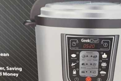GeekChef Electric Pressure Cooker VS Instant Pot Duo