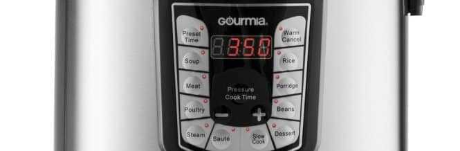 Gourmia Electric Pressure Cookers vs Instant Pot