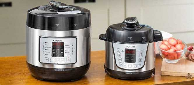 Cosori vs Bella Electric Pressure Cookers