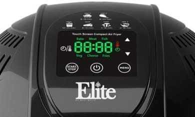 Elite Platinum EAF-1506D Digital Air Fryer Review