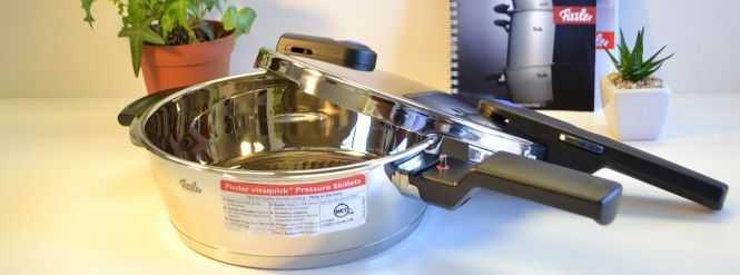 Fissler Vitaquick VS Kuhn Rikon Pressure Cookers