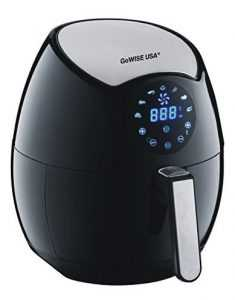 GoWISE USA Electric Air Fryer 3.2 Quart Plum