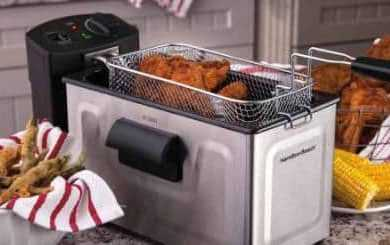 Hamilton Beach 35033 Deep Fryer vs T-fal FF492D Mini Deep Fryer