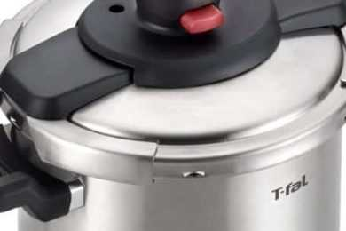 T-FAL P25107 Stainless Steel Pressure Cooker vs T-FAL P45007 Clipso