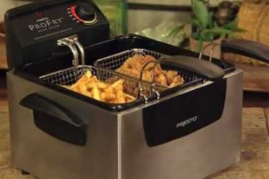 T-fal FR8000 Deep Fryer VS Presto 05466 Dual Basket Deep Fryer
