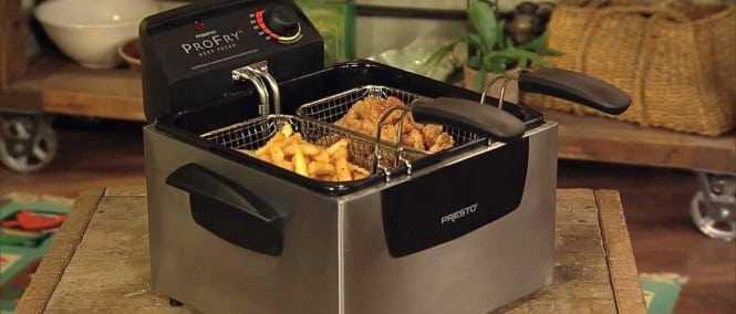 T-fal FR8000 Deep Fryer VS Presto 05466 Dual Basket Deep Fryer