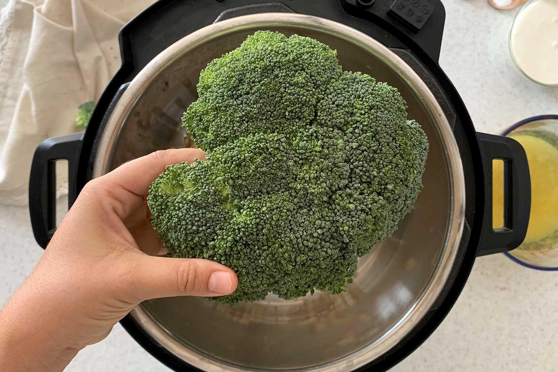 broccoli in Instant Pot