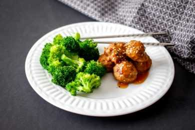 Instant Pot Meatballs with Asian Orange Sauce