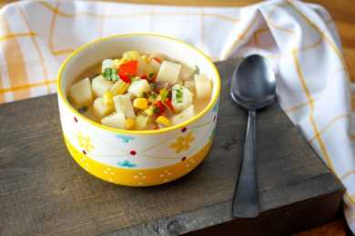 Instant Pot Creamy Corn Chowder