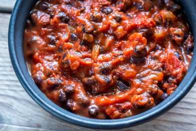 Instant Pot Beans Chili