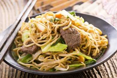 Instant Pot Beef Stroganoff with Whole Wheat Noodles