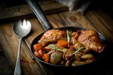 Instant Pot Chicken & Mushroom Stew