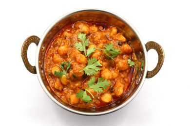 Instant Pot Chickpeas Curry