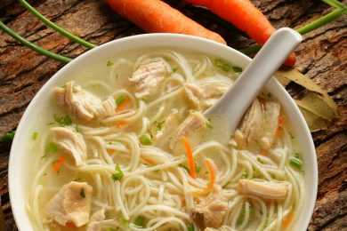 Instant Pot Classic Chicken Noodle Soup