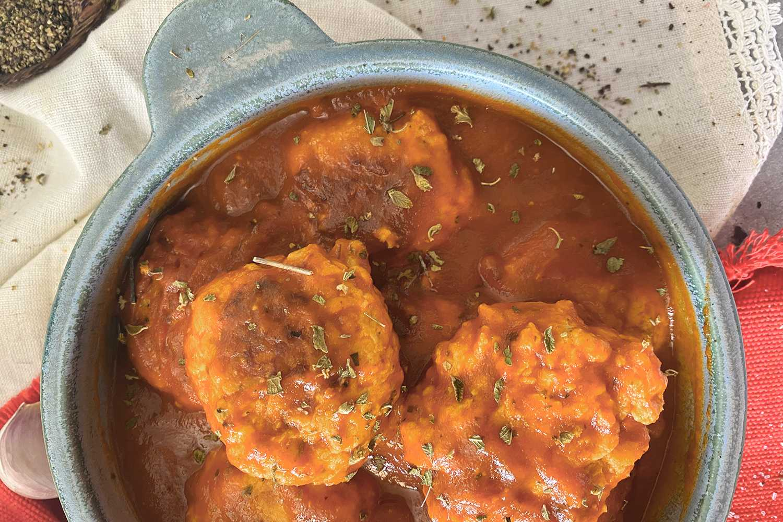 Instant Pot Chicken Meatballs