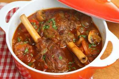 Instant Pot Lamb & Mushroom Stew