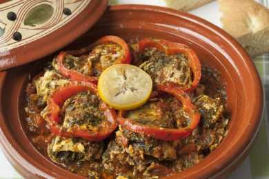 Instant Pot Moroccan Fish