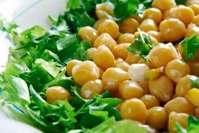 Instant Pot Parsley in Chickpeas