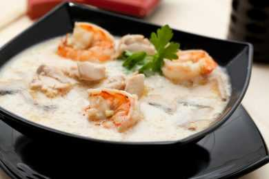 Instant Pot Prawns in Coconut Milk