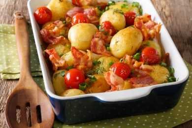 Instant Pot Red Potatoes with Chives and Garlic