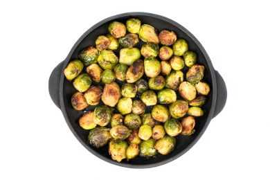 Instant Pot Roasted Brussels Sprouts