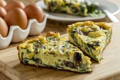 Instant Pot Spinach Frittata