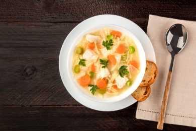 Instant Pot Super Healthy Chicken Soup