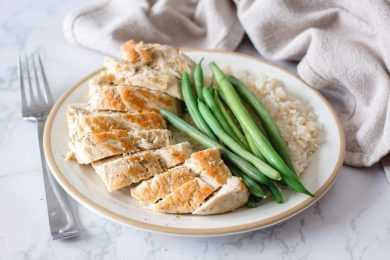 substitute quinoa for rice alongside chicken for a perfect instant pot quinoa recipe