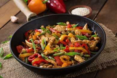 Instant Pot Pepper Chicken