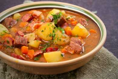 Instant Pot Spanish Pork Stew