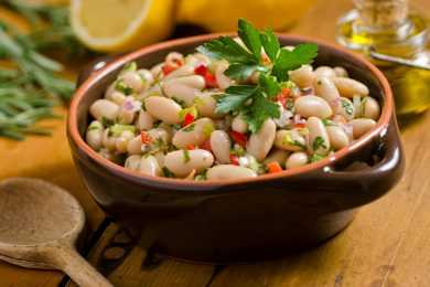Instant Pot White Beans Salad