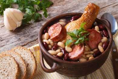 Instant Pot White Beans with Chicken Sausage