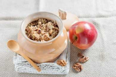 Instant Pot Breakfast Quinoa with Pears