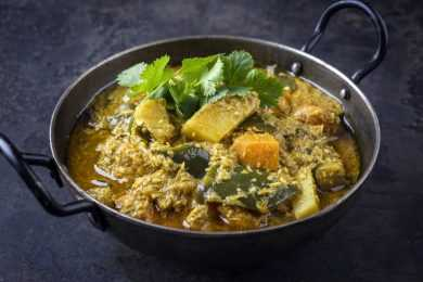 Instant Pot Curried Yams
