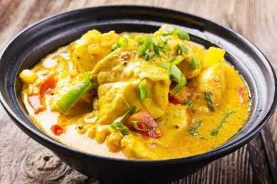 Instant Pot Fish Stew in Coconut Milk