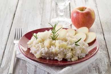 Instant Pot Apple Cherry Risotto